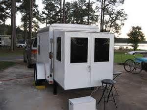 Mobile Home Awning Supports Convert Small Utility Trailer Into Small Camper Pinterest