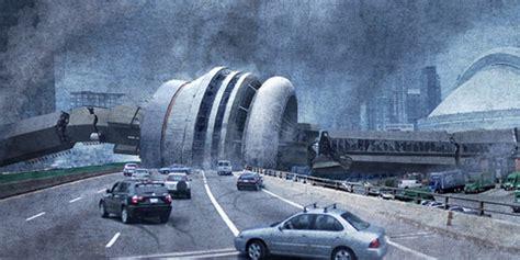 Cn Tower Interior by Fallen Toronto Calendar Shows A Post Apocalyptic Hogtown