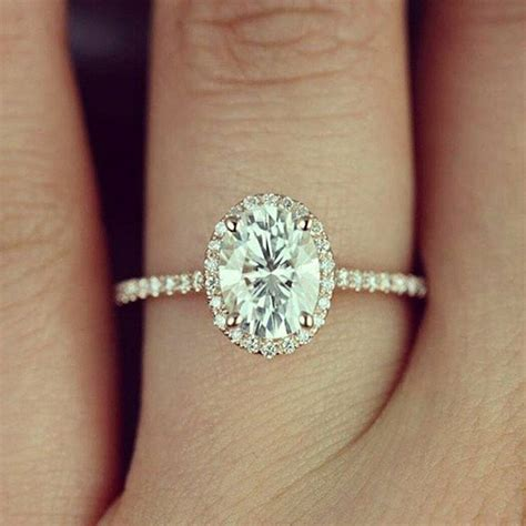 Oval Engagement Rings by Best 25 Oval Engagement Rings Ideas On