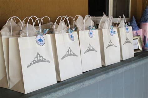 Goody Bag Ransel Princess Cinderella princess crown favor goody bags by partyandhomedesign
