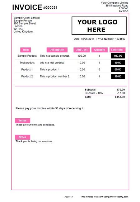 cupcake invoice template bakery order form template quotes