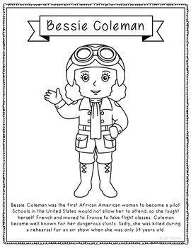 betsy ross coloring page cute bessie coleman coloring
