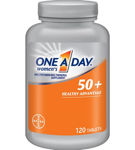 7m supplement one a day s 50 advantage multivitamins