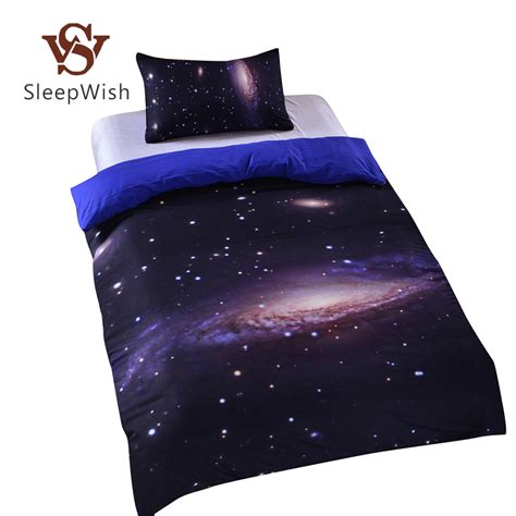space bed sheets aliexpress com buy hipster galaxy bedding set universe