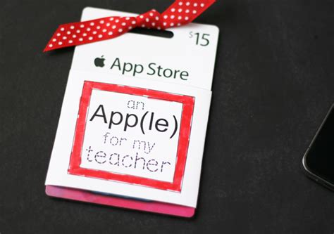 printable apple gift cards printable gift card tag for teachers guest post by my