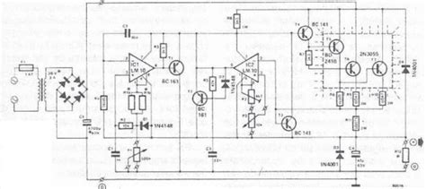 bench power supply circuit simple 50v bench power supply wiring and diagram