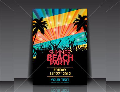 templates flyers ai summer party flyers 39 free psd ai vector eps format