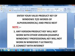 windows vista home premium product key how to change activate product key in windows 7 wmv