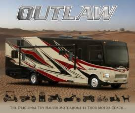 Awning Tie Down 2015 Thor Outlaw Class A Toy Hauler Roaming Times