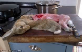 jeanette winterson attacked for rabbit by