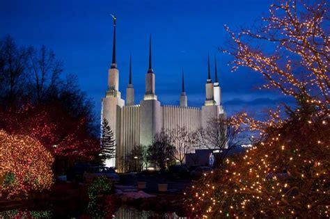 mormon temple dc christmas lights washington d c temple at christmas