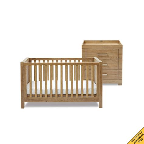 Nursery Sets Furniture Silver Cross Portabello Nursery Furniture Set