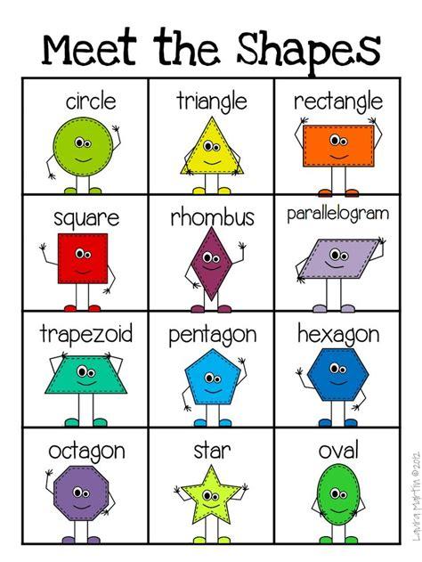 printable shapes pdf shape helper updated pdf teaching ideas pinterest