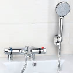 best deck mounted tub thermostatic faucet 97167 18 modern