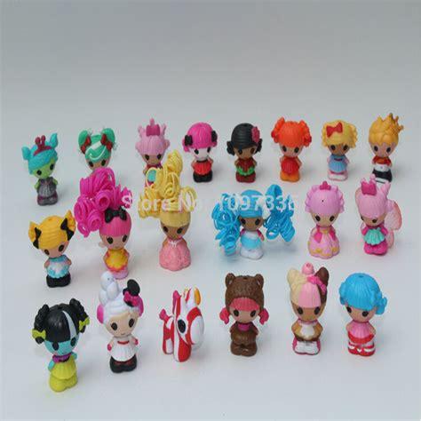 mini ornaments bulk 20pcs lot 3cm squinkies mini lalaloopsy doll