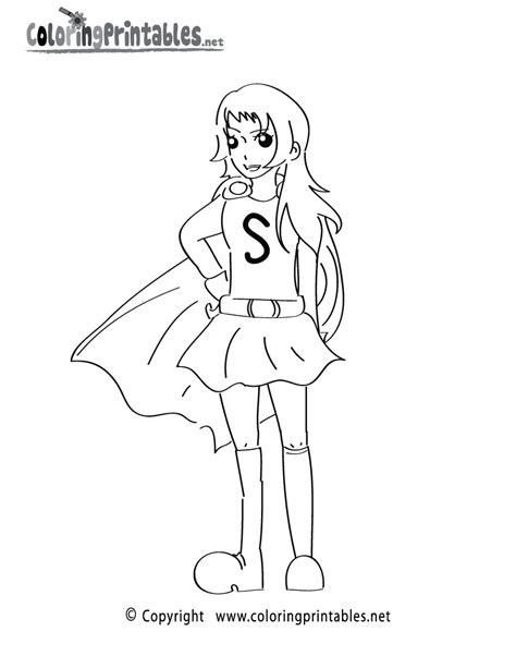 superhero girls coloring pages coloring home