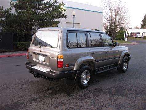 1997 Toyota Land Cruiser 40th Anniversary Edition 1997 Toyota Land Cruiser 40th Anniversary Limited Edition