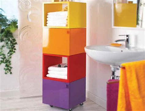 home dzine bathrooms bathroom storage cubes