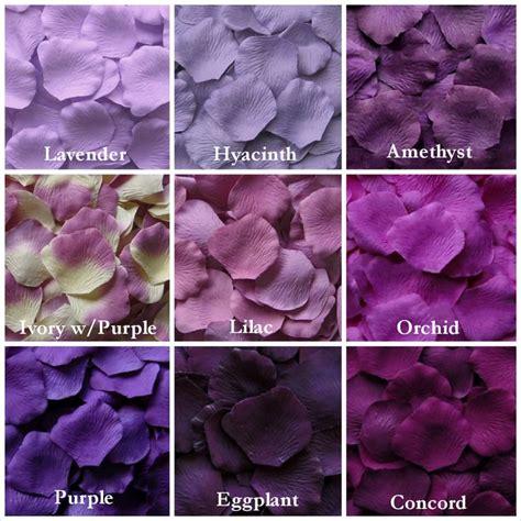 different types of purple 25 best silk rose petals ideas on pinterest silk roses