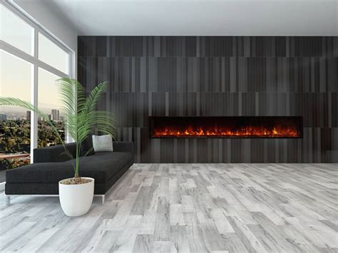 modern flames 100 inch landscape fullview electric