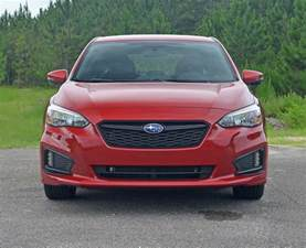 Subaru Impreza Sport Review 2017 Subaru Impreza 2 0i Sport Hatchback Review Test Drive
