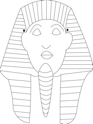 King Tut Mask Template by Colecci 243 N De Caretas Para Carnaval Ii Imprimibles Para