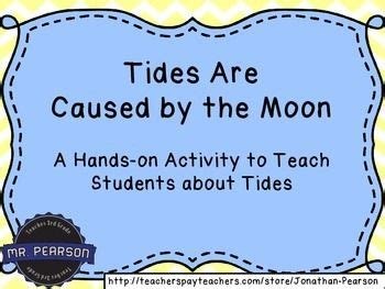 tide the science and high tide and low tide a craftivity to teach tides