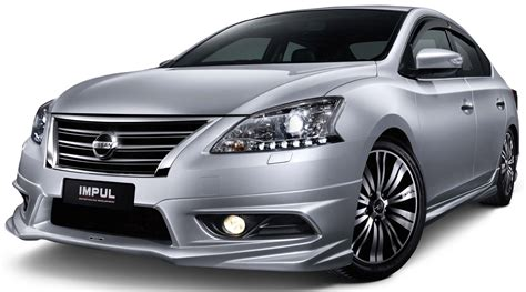 Nissan Sylphy Tuned By Impul Introduced Aerokit Bigger