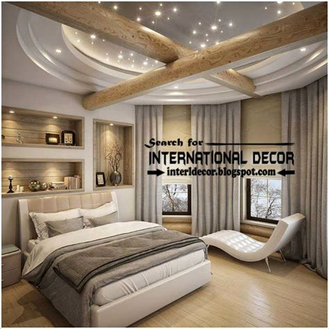Modern Ceiling Designs For Bedroom Contemporary Pop False Ceiling Designs For Bedroom 2017