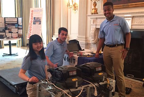 white house science fair lemelson mit inventeam students participate in 2016 white house science fair mit news