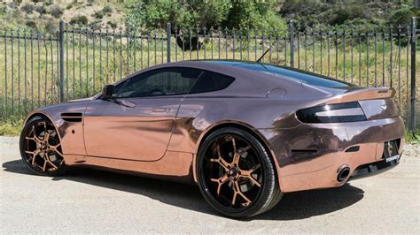 rose gold aston martin dub magazine rose gold aston martin vantage forgiatos