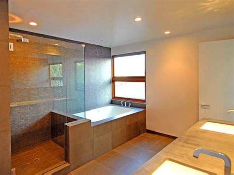 Modern Bathroom Hgtv Bathroom With Glass Enclosed Shower Hgtv
