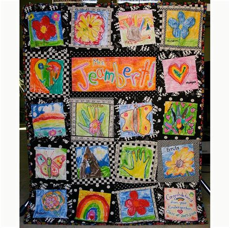 How To Transfer Pictures To Fabric For Quilting by 8 Great Ideas For Displaying Your Child S Artwork