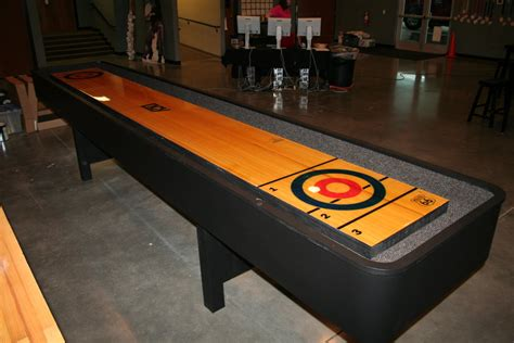 Bowling Table by Bowling Shuffleboard Table By Joeysjunk