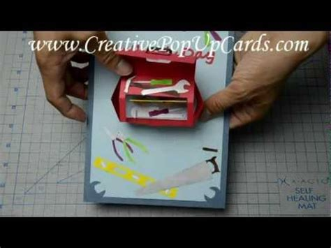 s day tool box card template how to make a pop up card for s day toolbox