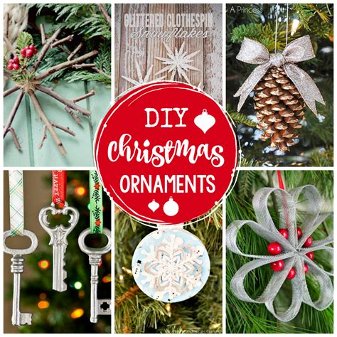 25 DIY Christmas Ornaments to Make This Year - Crazy ... Xmas Ornaments To Make