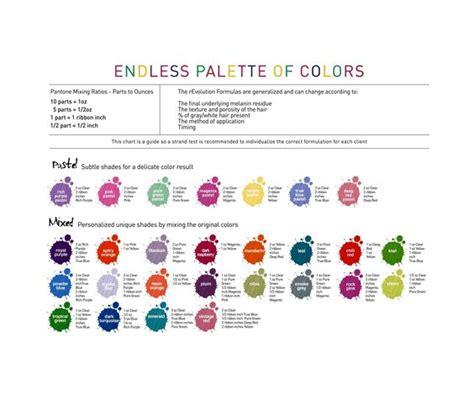 alfaparf milano hair color chart alfaparf milano revolution endless palette of color