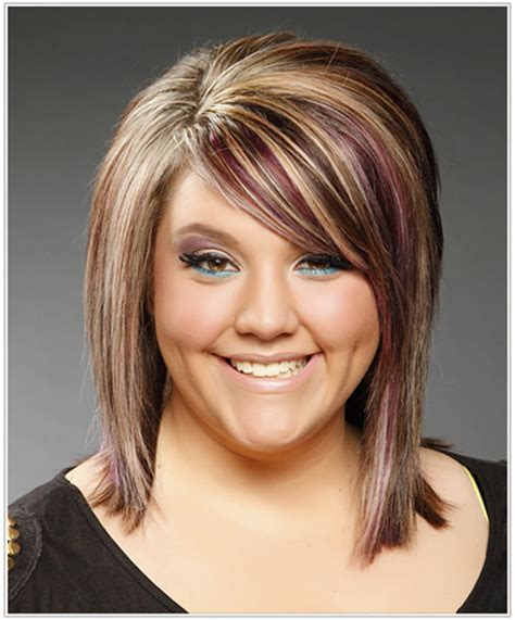 pictures of bob haircuts with foil color hairstyle trend think pink