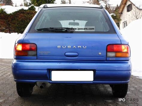 how to fix cars 1997 subaru impreza electronic valve timing 1997 subaru impreza 2 0 gl 4wd automatic mot new car photo and specs