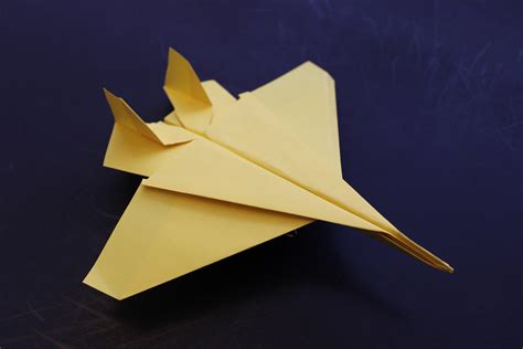 How To Make A Eagle Out Of Paper - how to make a cool paper plane origami f15
