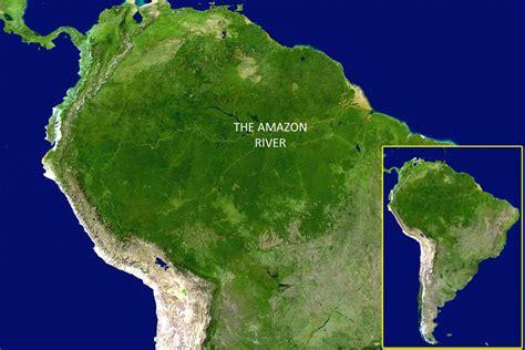 amazon america amazon slideshow nasa satellite image of south america
