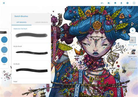 auto sketchbook apk adobe photoshop sketch photoshop fix comp cc now on