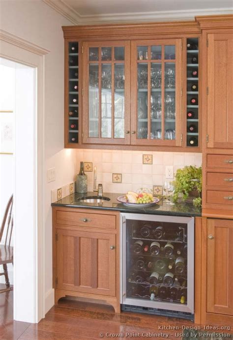 Wine Cooler For Kitchen Cabinets by Pictures Of Kitchens Traditional Two Tone Kitchen