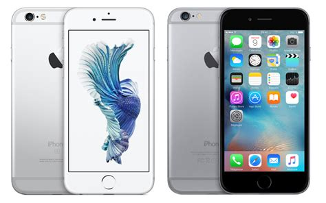iphone 6 vs iphone 6s quelles sont les diff 233 rences journal du
