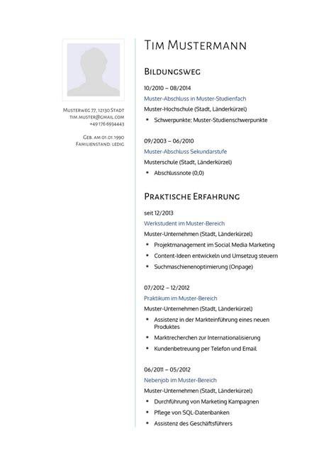 Lebenslauf Muster Ohne Bild Lebenslauf Muster F 252 R Psychologe Lebenslauf Designs