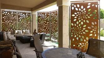 sichtschutz stellwand terrasse affordable patio privacy screens that are easy to make