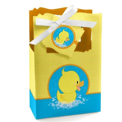 Baby Shower Bags And Boxes by Boy Ducks Baby Shower Favor Boxes And Bags Baby Shower Mania