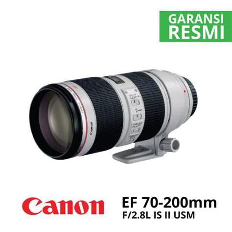 Lensa Canon Ef 200mm F 2 8l Ii Usm canon ef 70 200mm f 2 8l is ii usm harga dan spesifikasi
