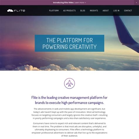 flite the leading creative management platform flite 183 the premium programmatic creative ad platform