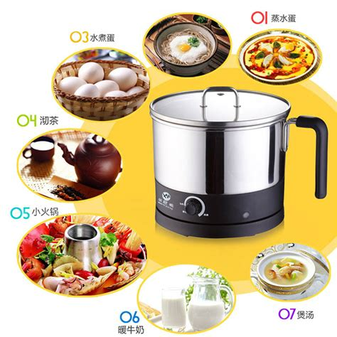 Small Electric Kitchen Appliances - small electric skillet electric heating pot mini kitchen appliances multifunctional cooking